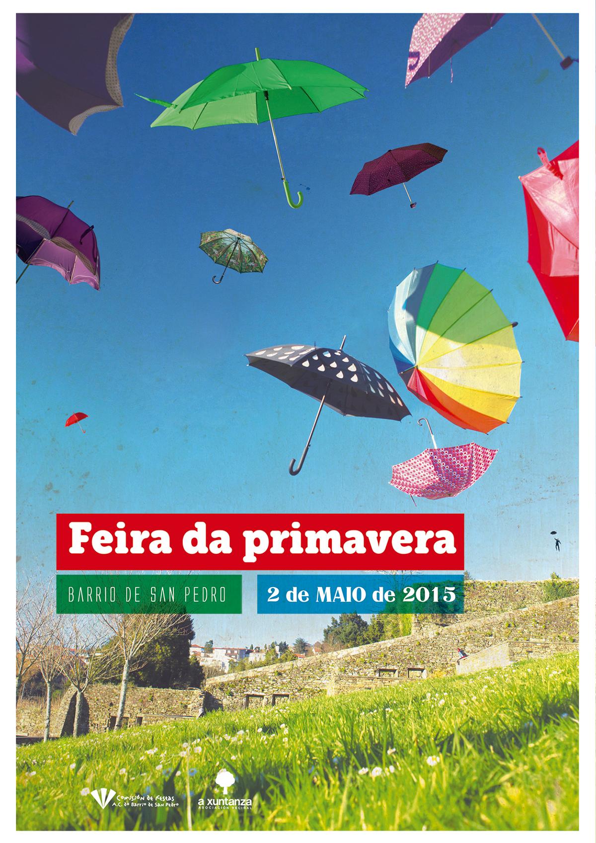 Cartaz Feira da Primavera 2015