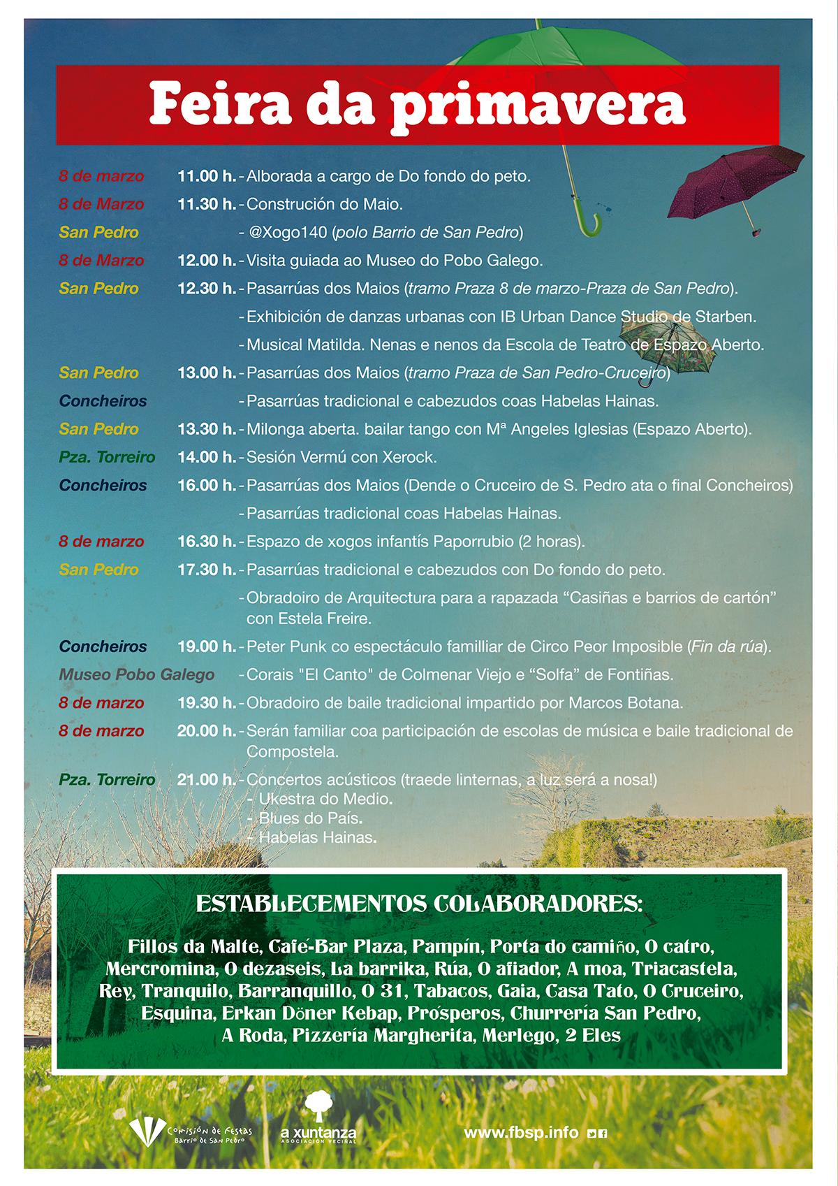 Programa Feira da Primavera 2015