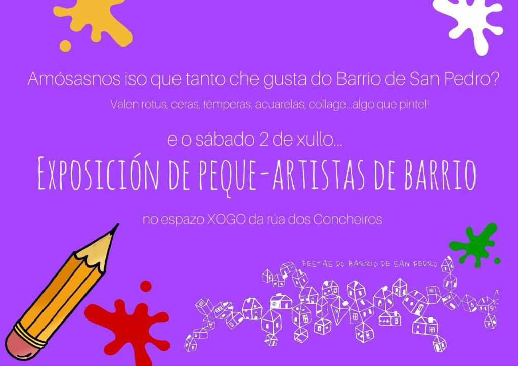 Exposición de Peque-Artistas de Barrio